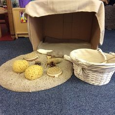 A lovely small place to settle and explore. Enclosure and a sense of control over the surrounding area helps some children feel more secure from Elizabeth Jarman.
