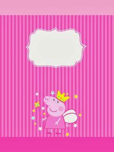 Peppa Pig Princesa, Peppa Pig Printables, Free Printables, Peppa Pig Wallpaper, Peppa Pig Imagenes, Papa Pig, Pig Candy, 2nd Birthday, Birthday Parties