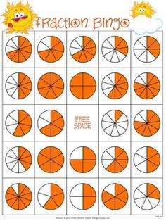 Fraction Bingo by Jason's Online Classroom Fraction Bingo, Fraction Activities, Math Activities, Classroom Signs, Online Classroom, Have Fun Teaching, Teaching Science, Bingo Games, Math Games
