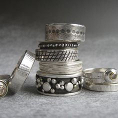 Silver jewelry is the absolute go to accessory! I love the texture & color of silver.