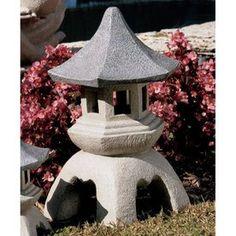 Design Toscano 17.5-in Asian Pagoda Garden Statue