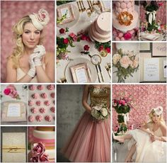 Pink, Blush and Gold Wedding Inspiration | Coordinated For You