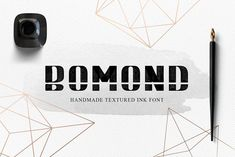 BOMOND. Textured Ink