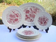 Taylor Smith red staffordshire