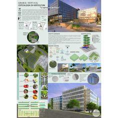Vertical Farm. Bachelor thesis project #architecture