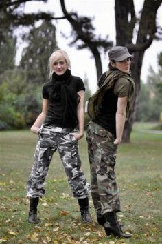 Armybyxa-dam-kamouflage I 249 SEK