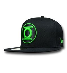 Green Lantern John Stewart Symbol 59Fifty Fitted Hat 1d852ca6bb