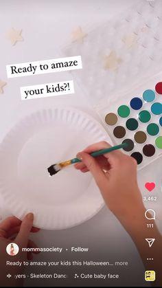 Halloween Activities, Autumn Activities, Craft Activities, Halloween Crafts, Holiday Crafts, Fall Arts And Crafts, Fall Crafts For Kids, Art For Kids, Fall Preschool