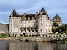 The fabulous Chateau de la Roche Courbon in Charente-Maritime,Poitou-Charentes, France