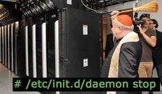 Exorzismus im Serverraum