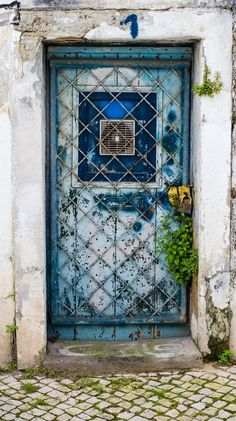 Lisbon, Portugal, old door, entrance, doorway, details, ornaments, architechture, photo