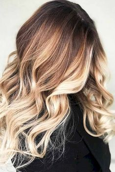08 Beautiful Brunette Balayage Hair Color Ideas