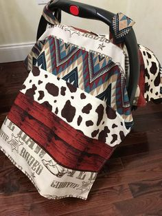 Sewing Ideas For Baby Baby Car Seat Tent, Cowboy Car Seat Canopy, Western Car Seat Blanket, Car Seat Strap Covers, Cowboy - Baby Shower Gifts For Boys, Baby Boy Shower, Baby Gifts, Cowboy Baby Shower, Baby Boy Cowboy, Car Seat Strap Covers, Car Covers, Western Babies, Western Baby Clothes
