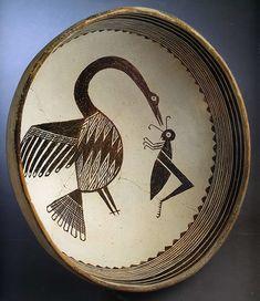 Mimbres-bowl,-New-Mexico-475x549 A.D. 850 to 1150 ( Eumaros-Flickr)
