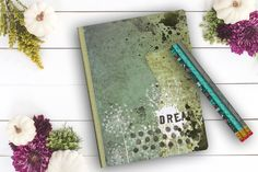 Dream Journal personal diary custom notebook girl's by Teakberry