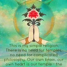 my religion is simple my religion is kindness  #buddhism #buddhisttemple #yourheart #simplereligion #dalailama #dalailamaquotes #onetruelove #kindness #kindnessmatters #yoga #yogagirl #govegan #vegangirl #dharma #meditation #nagchampa #incense #tibet #lhasa