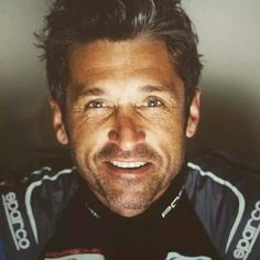 Here is the sunshine... Patrick Dempsey #silverstone