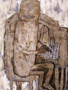 [Jean Dubuffet] Le Désistement, 1957