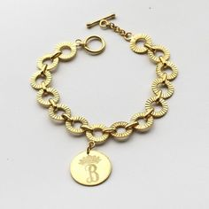 Personalized Royal Charm Bracelet