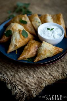 Spanokopita – greek pastry hand pies filled with spinach and feta cheese. The layers of phyllo dough are flaky and work well with the slightly salty filling of spinach and feta. Spinach and Feta Spanokopita can be eaten as a snack or an appetizer, hot or cold, on their own or with a bit of...