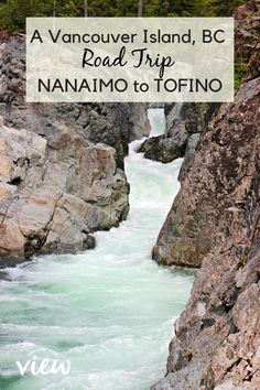 A Nanaimo to Tofino Road Trip - Vancouver Island View Are you heading to the West Coast of British Columbia? This Nanaimo to Tofino Vancouver Island road trip will give you all the must-see stops along the way. Pacific Coast Highway, West Coast Road Trip, Road Trip Usa, Places To Travel, Travel Destinations, Places To Go, Travel Local, Las Vegas Hotels, Sedona Arizona