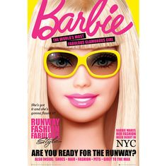 Barbie poster only 91.5cm only £3.99