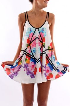 Cute!!! But is this a top or a dress? If a dress, I'd need to add some leggings under that...