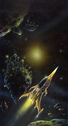 Danny Flynn - Pirates of Asteroids / The Science Fiction Gallery