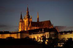 Nachtaufnahmen von Prag