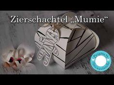 Blog - Brigittes Stempelstelle Alles rund ums Basteln mit Stampin Up Produkten Mumie Zierschachtel für Andenken von Stampin Up. Die Anleitung gibt es auf meinem Youtube-Kanal: Brigitte Sing