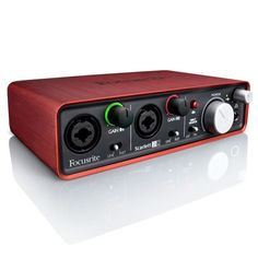 Focusrite Scarlett 2i2 USB 2.0 Award Winning Audio Interface