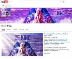 You know you wanna: 'BE KIND' Lyric video —>> http://youtu.be/Sj0FAy3rAIM #stonebridge #crystalwaters #bekind #stoneyboymusic