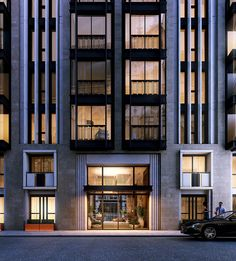 Today we gonna present you the first London Interior Design project, of one of the best Architects in the world, Patricia Urquiola Architecture Classique, Hotel Architecture, Classic Architecture, Architecture Design, Patricia Urquiola, Entrance Design, Facade Design, Building Facade, Building Design