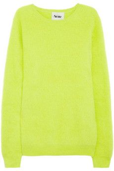 // acne angora sweater