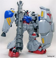 RX-78GP02A Gundam GP02A (Beam Bazooka Type) - Federazione Terrestre (Manga: Katana e Mobile Suit Zeta Gundam Define. MSV: Harmony of Gundam. Videogioco: Mobile Suit Gundam: Battle Operation.)