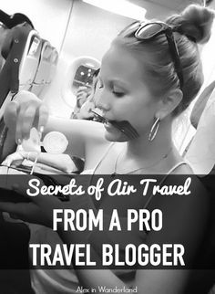 Get all the insider tips for air travel from a pro travel blogger, from which flight search engine to use to how to choose a loyalty program and earn free flights to which days to book and fly.   Alex in Wanderland #TravelProblemSolved