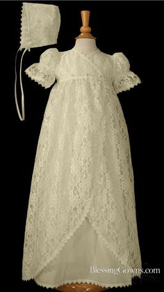 lacey long blessing gown                                                                                                                                                                                 More