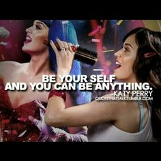 You guys keep saying I inspire you but how? I just don't see it. Anyways I love you Katy Cats! Xx