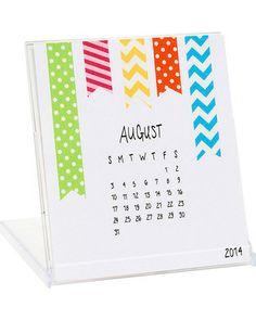 2014 Paper Source DIY Calendar