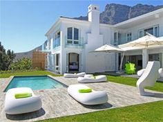 Camps Bay Villa Rental: Newly Renovated Interior Designed Home Boasting Superb Luxury Marrakech, Villas, Win A Holiday, 6 Bedroom House, Luxury Accommodation, Cape Town, Location, Ideal Home, Luxury Homes