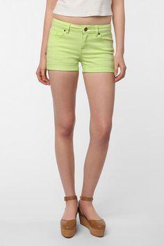 UrbanOutfitters.com > BDG 5-Pocket Short - Lime