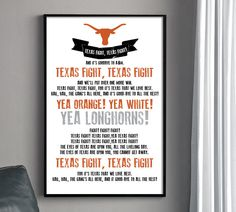 Texas Longhorns Fight Song