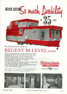 Random Vintage Trailer Ads by Heintz Designs,