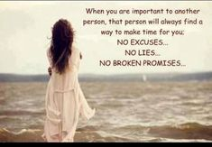 broken promises for wives | When you are important to another person - Quotes About Love - Quotes ...