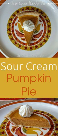 A creamy, delicious alternative to traditional pumpkin pie, this is rich and sweet (and not at all sour!). No evaporated milk required