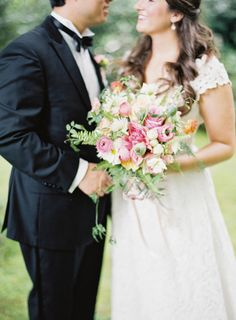 You can feel their smiles: http://www.stylemepretty.com/little-black-book-blog/2015/01/16/rustic-elegance-at-old-edwards-inn/ | Photography: Natalie Watson - http://www.nataliewatsonphotography.com/