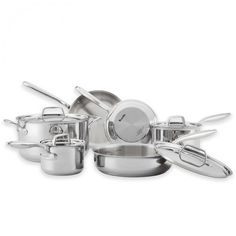 Breville Thermal Pro Clad Cookware Review & Giveaway ~ http://steamykitchen.com