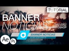 Banner de Noticias - Tutorial After Effects - YouTube