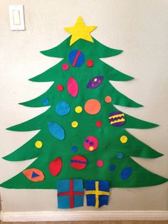 Felt Christmas Tree- Children's play tree