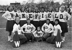 Wakefield High School Cheer Leaders - circa: 1950's